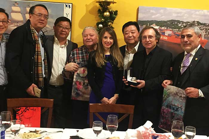 The Vice-Governer of Shanghai visits Spain with Boss Continental