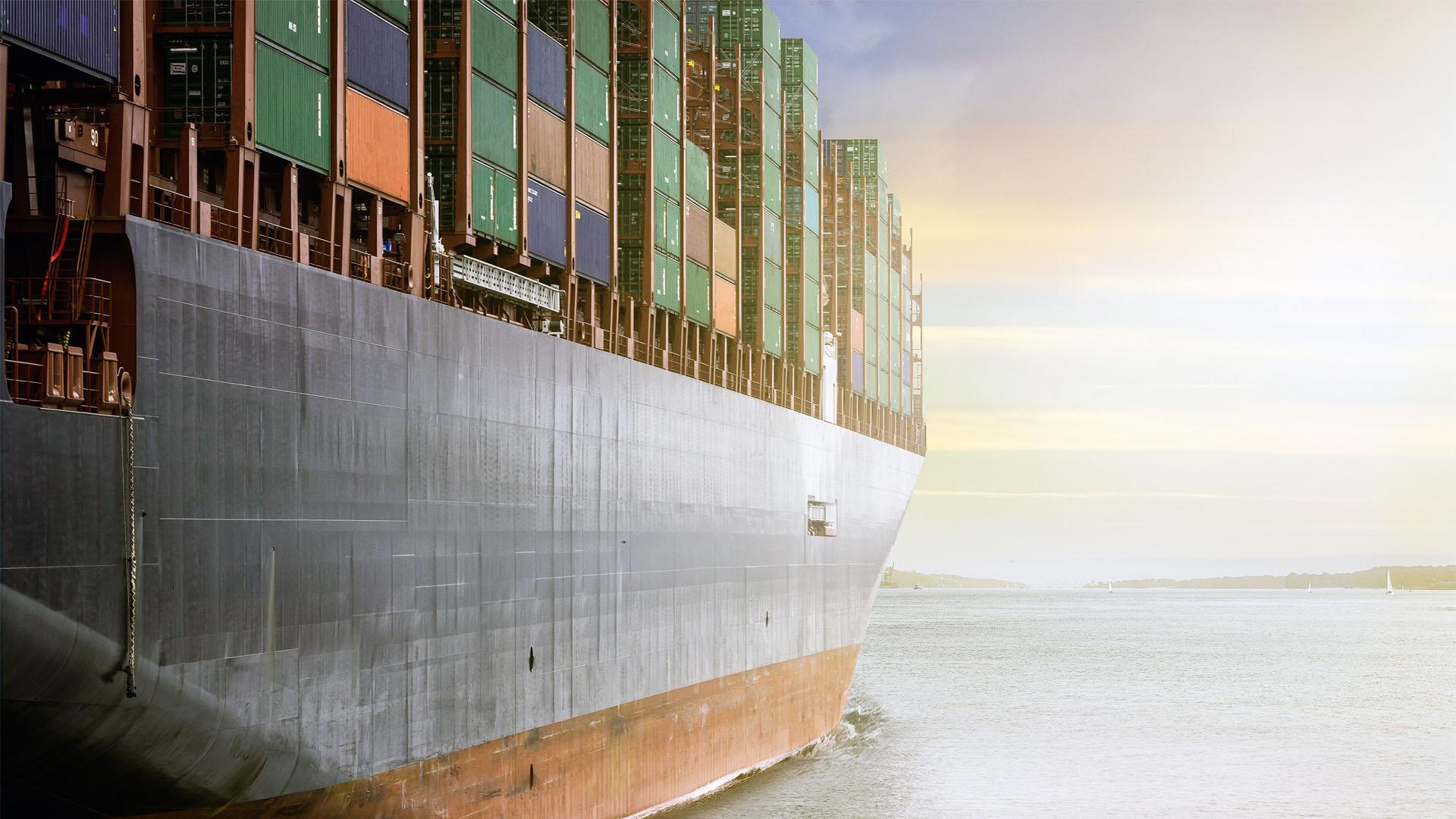 Slider Transporte marítimo