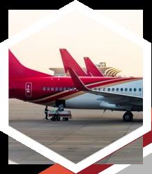Empresa de transporte aéreo internacional en Madrid