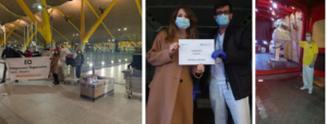 Boss Continental trae 89 Respiradores para Hospitales Españoles